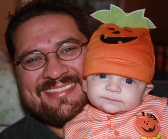 Halloween with Dad