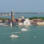 Tilt shift photograph