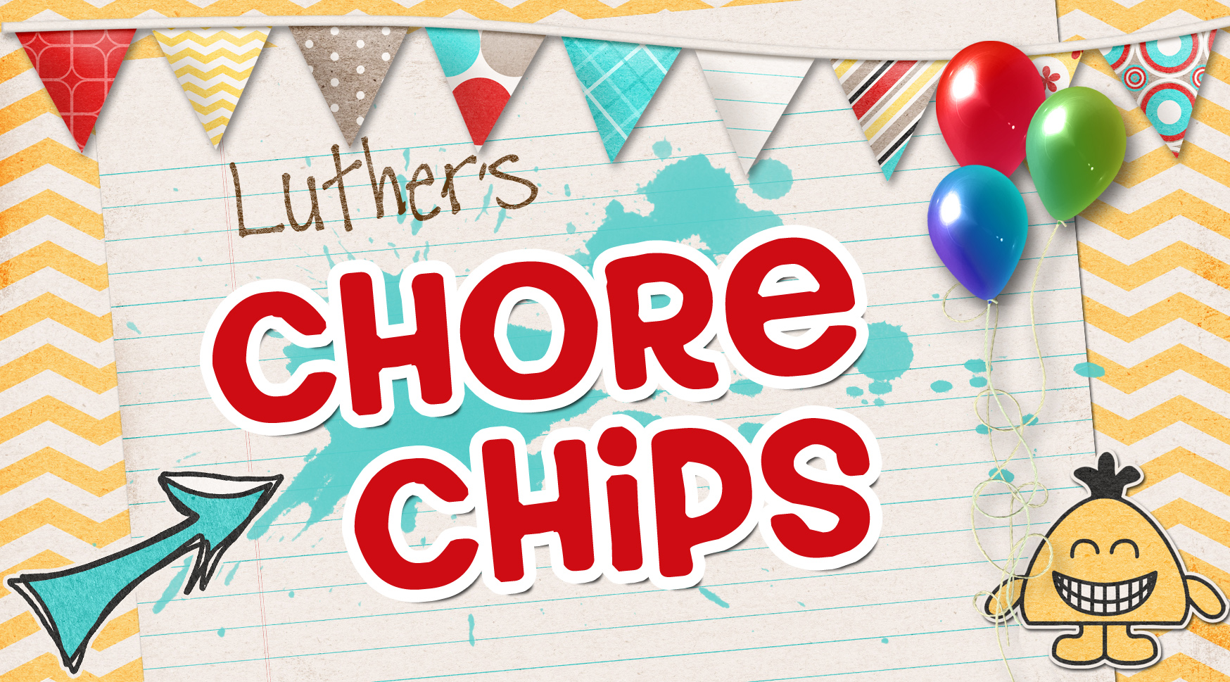 Chore chips label